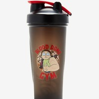 Rick And Morty Blood Dome Shaker Bottle