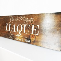 Rustic Five Year Anniversary gift for Girlfriend-Boyfriend-Husband- Wedding Sign- Fifth Wood Anniversary Gift for Men - Women .sign#185