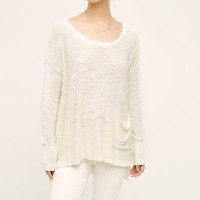 Moth Bolinas Pullover in Ivory Size: