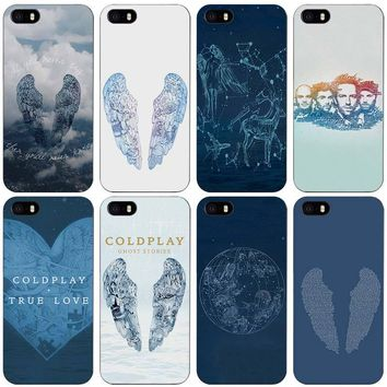 Ghost stories story coldplay Black Plastic Case Cover Shell for iPhone Apple 4 4s 5 5s SE 5c 6 6s 7 Plus