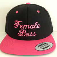 Female Boss Snapback one size fits all
