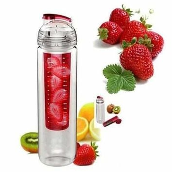 Fruitcola Dome Fruit Infuser Water Bottle