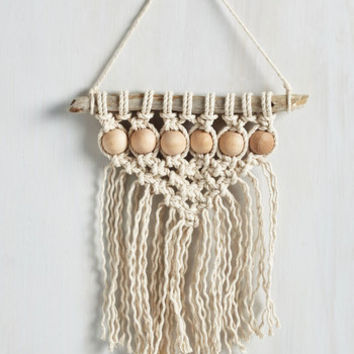 Boho Be-Weave it or Knot Wall Hanging by ModCloth