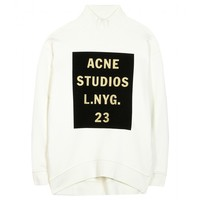 mytheresa.com -  Beta Double cotton sweater  - Luxury Fashion for Women / Designer clothing, shoes, bags