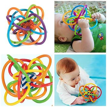 1PC colorful baby molar ball baby puzzle teeth ball gum Baby Teethers Ball 100% Top Good