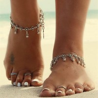 Women's Anklets Vintage Bracelet For Ankle