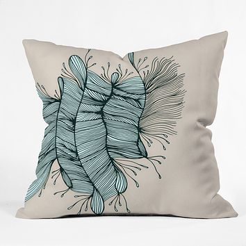 Gabi Birds Of A Feather 1 Throw Pillow