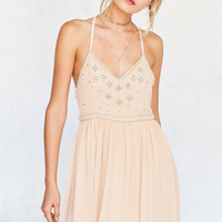 Kimchi Blue Snow Queen Embellished Mini Dress | Urban Outfitters