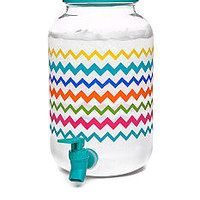 Home Accents® Summer Brights Chevron 4.5-qt. Beverage Dispens