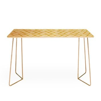 Heather Dutton Diamond In The Rough Gold Desk