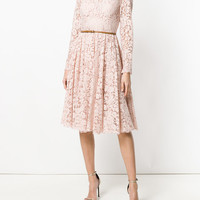 Dolce & Gabbana Lace Skater Dress - Farfetch