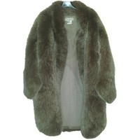 FOX FUR COAT PAUL JOE