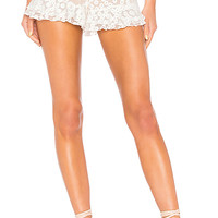 MAJORELLE Whitney Shorts in White | REVOLVE