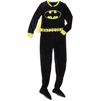 Walmart: Juniors Bat Girl One-Piece Footie Pajama With Cape