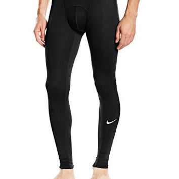 Nike Men's Pro Tights, Black/Dark Grey/White, X-Large