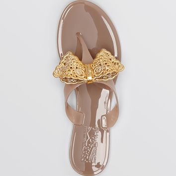 Salvatore Ferragamo Flip Flop Jelly Sandals - Pandy