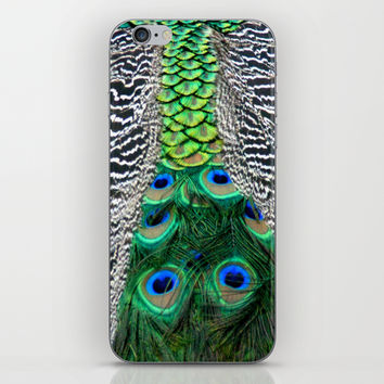 Nature's pattern iPhone & iPod Skin by Littlesilversparks | Society6