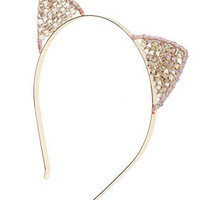 Facet Cat Ears Aliceband - New In This Week  - New In