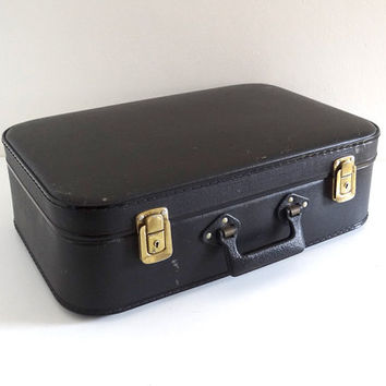 Black Retro Suitcase