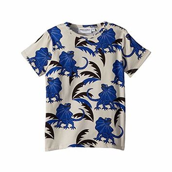 mini rodini Draco Short Sleeve T-Shirt (Infant/Toddler/Little Kids/Big Kids)