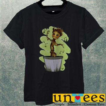 Low Price Men's Adult T-Shirt - Dancing Groot design