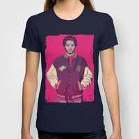 GAME OF THRONES 80/90s ERA - Robb Stark T-shirt by Mike Wrobel