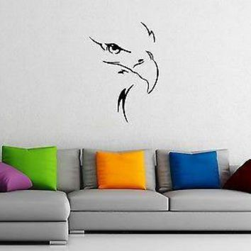 Wall Stickers Vinyl Decal Eagle Bird Animal Predator Unique Gift ig1410
