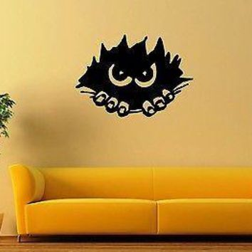 Wall Sticker Vinyl Decal Witty Design Alien Hole Coolest Room Decor Unique Gift (ig1138)