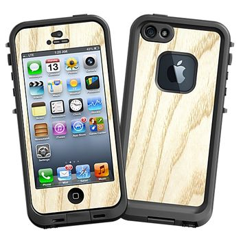 White Ash Skin for the iPhone 5 Lifeproof Case by skinzy.com