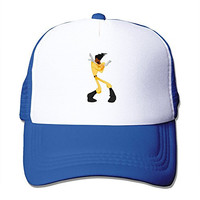 Newest Adult Unisex Powerline A Goofy Movie 100% Nylon Mesh Caps One Size Fits Most Adjustable Baseball Caps