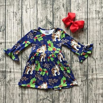 hot new Christmas tree Fall winter cotton milk silk baby girls b 58b446c2cbe9
