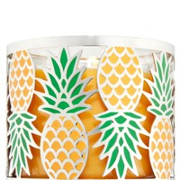 3-Wick Candle Sleeve Pineapple