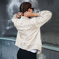 On Sale Sports Hot Deal Autumn Jacket Cotton Stylish Slim Ladies Baseball [9430664772]