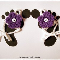 Baby Barefoot Sandals | enchantedcrafts - Children's on ArtFire