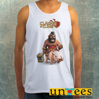 Clash of Clans Hog Rider Clothing Tank Top For Mens