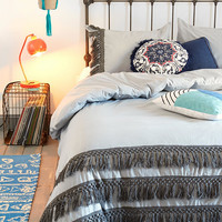 Urban Outfitters - Magical Thinking Tassel Duvet Cover