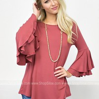 Belle of the Ball Top | Mauve