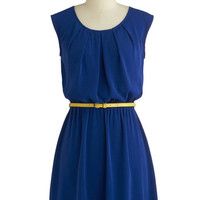 Colored in Cobalt Dress | Mod Retro Vintage Dresses | ModCloth.com