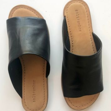 Copy of Salt + Umber Tropez Slide | Black