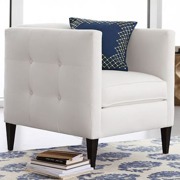 LEXI UPHOLSTERED ARMCHAIR