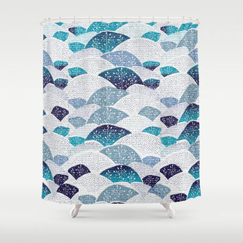 Hills and Hills Shower Curtain by rskinner1122