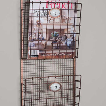 Metal Hanging Magazine Rack - *FREE SHIPPING*