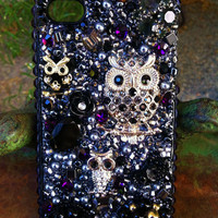 Gorgeous Black Owls iPhone 4/4s case