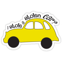 Neal & Emma (Swanfire) - I stole a stolen car? (Once Upon A time) by rainingonsunday
