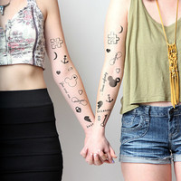 BFFE - Temporary Tattoo Pack (Set of 32)