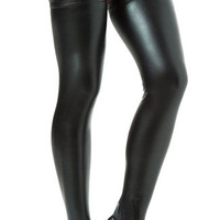 Black Thigh High Stockings, Thigh Hi Leggings