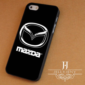 Mazda logo iPhone 4 Case 5 Case 5c Case 6 Plus Case, Samsung Galaxy S3 S4 S5 Note 3 4 Case, iPod 4 5 Case, HtC One M7 M8 and Nexus Case