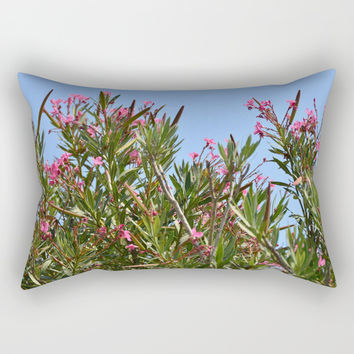 July flowers Rectangular Pillow by ArtGenerations