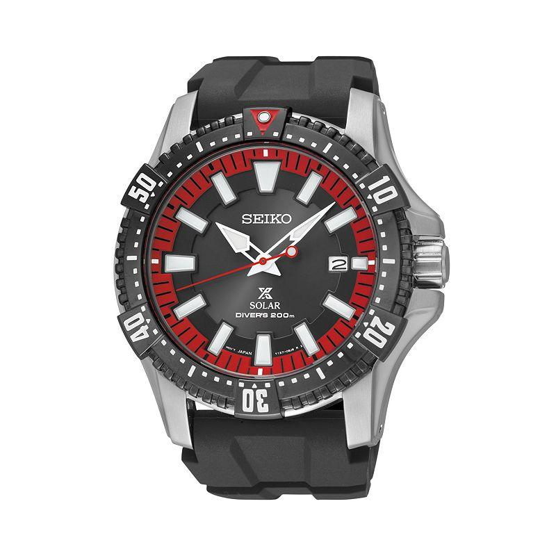 Seiko men 39 s prospex solar watch sne383 from kohl 39 s watches for Watches kohls