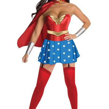 Wonder Woman Dlx Adult Large Costume